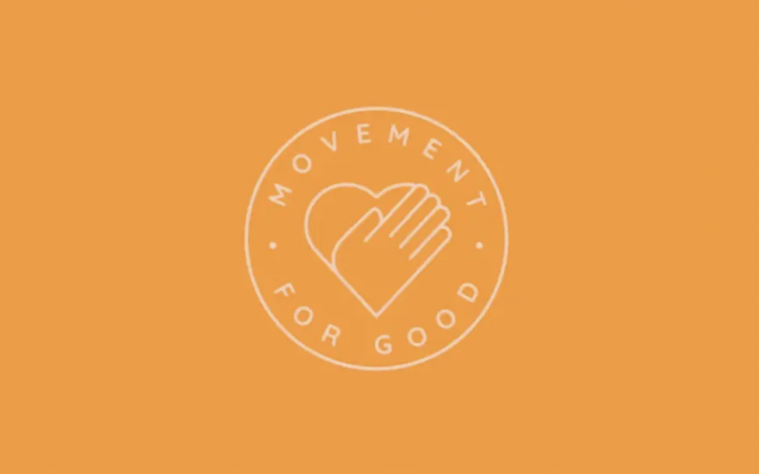 Nominate us at Ecclesiastical's 'Movement for Good' Awards