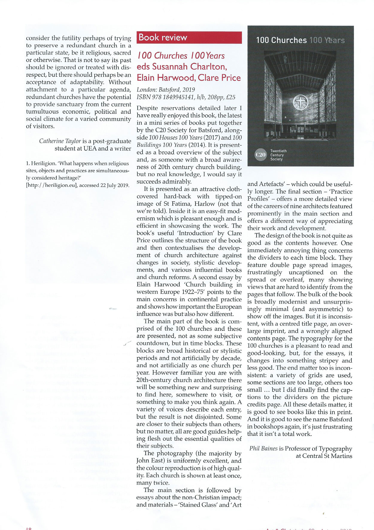 Review of Mira Calix's 2019 exhibition 'sihlabelela' in Art and Christianity journal.